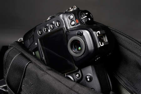 accessoires de voyage modernes avec poche appareil photo numérique
