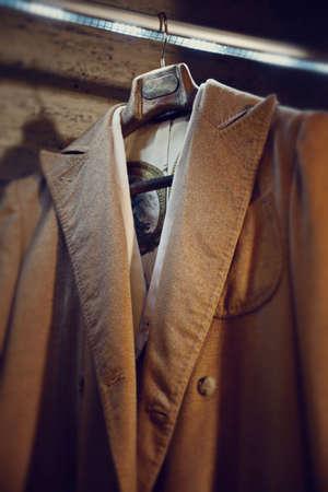 bespoke: bespoke coats and jackets Mens hanging