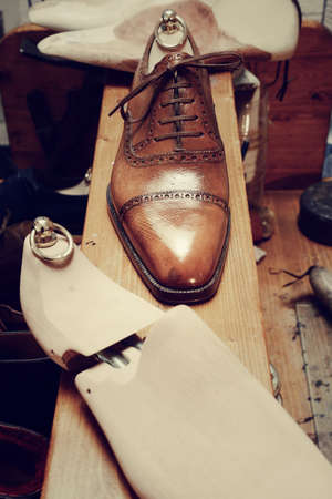 hand made: man luxury hand made shoes
