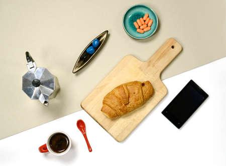 stuff: flat lay - breakfast stuff