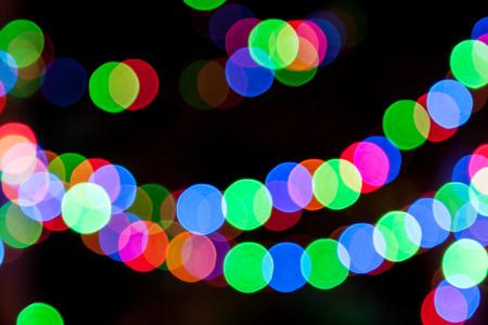 festal: lights bokeh at night
