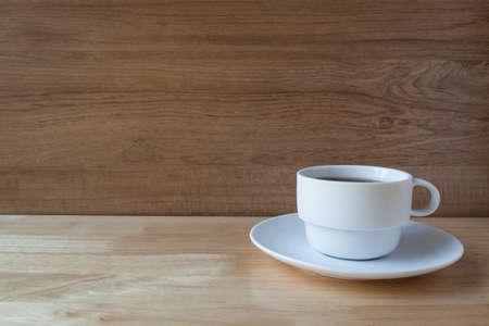 english breakfast tea: white cup of english breakfast tea Stock Photo