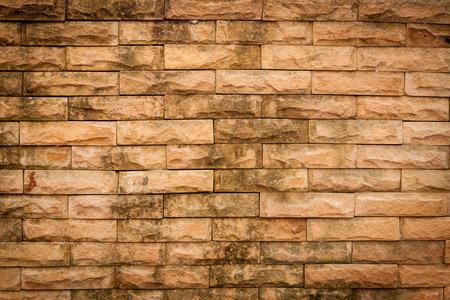 Old brick wall with vignett  for texture background Zdjęcie Seryjne