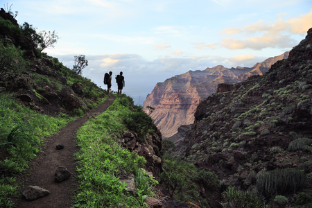 Trekking on Gran Canaria, Canary islands