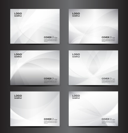 set white Cover template,Cover design template, cover design, brochure design, Abstract background, report cover , Set Cover template design illustration,Set Polygon background,Bussiness card,brochure template,booklet cover design templates collection,Bro