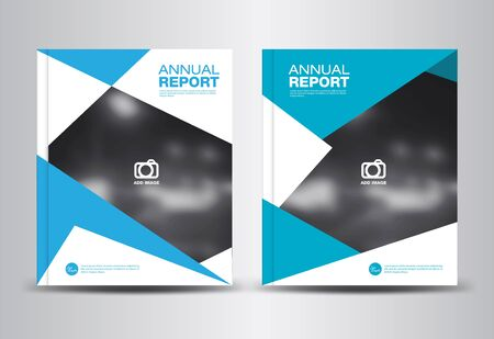 catalogs: Blue Annual report template,polygon background,brochure design,cover template,fl-yer design,portfolio,Leaflet,presentation template,book cover,booklet,catalogs,Blue background
