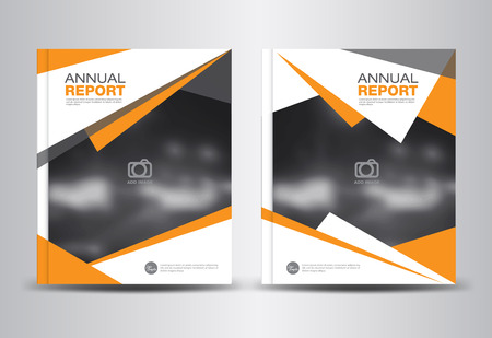 template: Orange Annual report template,polygon background,brochure design,cover template,fl-yer design,portfolio,Leaflet,presentation template,book cover,booklet,catalogs,orange background