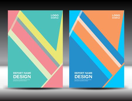 fl: Set Cover design,cover annual report,brochure fl yer,book cover,booklet,vector illustration
