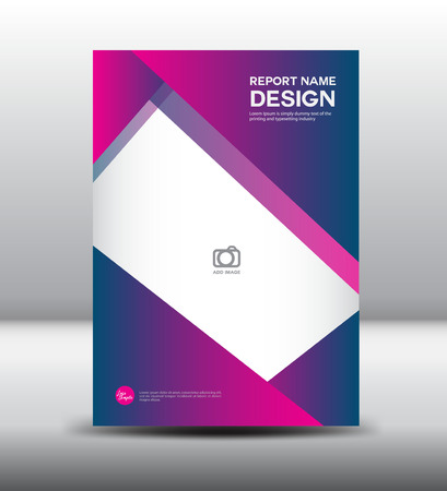 fl: Pink Cover template,annual report, brochure fl yer,presentation templates,leaflet template, polygon background