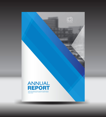 fl: Blue Cover template,annual report, brochure fl yer,presentation templates, Abstract background