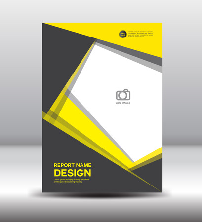 Yellow black Cover design ,cover Annual report,brochure flyer, leaflet,book cover,booklet,template design ,portfolio, black cover,presentation,profile, Abstract Background