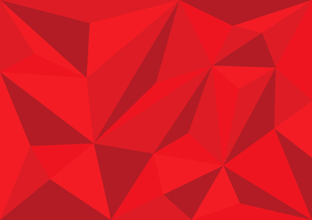 Red polygonal.