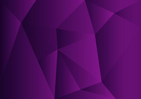 Paarse veelhoekige achtergrond, vectorillustratie, abstracte textuur, behang, dekking, sjabloon voor business flyer, boek lay-out, advertentie, gedrukte media Stockfoto - 88590259