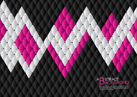 Black and pink abstract background vector illustration, cover template layout, business, Leather texture luxury can be used in annual report cover design, book, banner, web page, brochure, poster, card