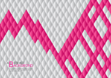 White and pink abstract background vector illustration, cover template layout, Leather texture luxury can be used in annual report cover design, book, banner, web page, brochure, poster, card Illustration