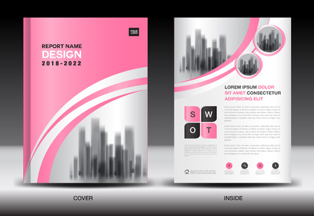 Annual report cover design, brochure flyer template, business advertisement, company profile, magazine ads, leaflet, book, catalog, infographics vector layout in A4 size