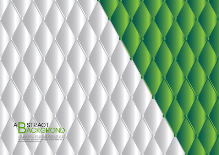 White and green abstract backdrop vector illustration for cover template layout, business and many more