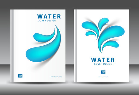 Cover design template vector for water business annual report cover design template vector for water business annual report brochure flyer template advertisement accmission Gallery