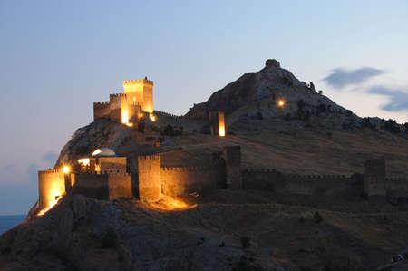 castle in Sudak