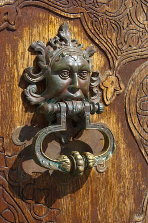 old building door handle