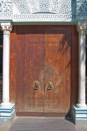 old building door handle