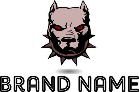 Angry Dog is logo design that is suitable for business logo