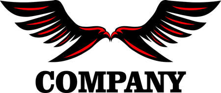 Black Wing is logo design that is suitable for business logo