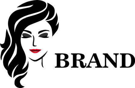 Beauty Face is logo design that is suitable for fashion Archivio Fotografico - 139904197