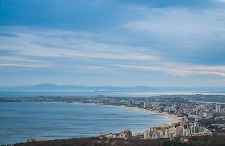 beach panorama: Sunny Beach Panorama
