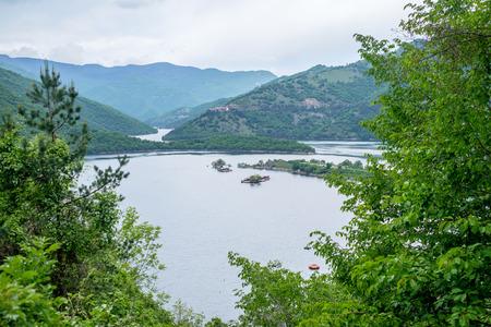 Lake in Rhodope 2 Stock Photo