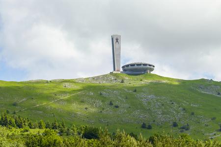 Old soviet building in bulgarian mountain 4