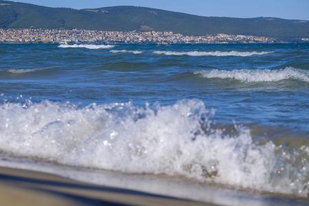 Sea panorama in Bulgaria 3
