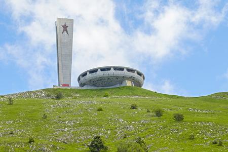 Buzludzha – abandoned communistic building in Bulgaria 1
