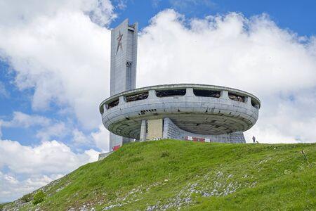 Buzludzha – communistic UFO building in Bulgaria 5
