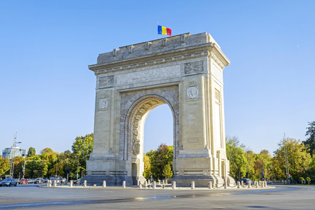 Monumental Triumphal Arch in Bucharest 3