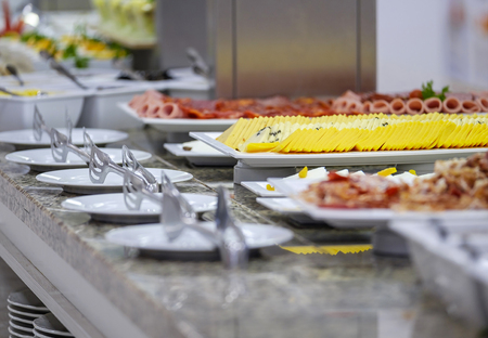 Buffet with tasty main dishes 6 Imagens