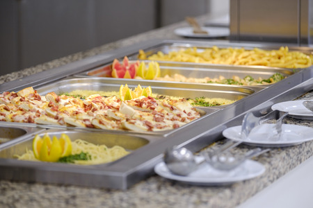 Buffet with grilled meat and vegetables 5