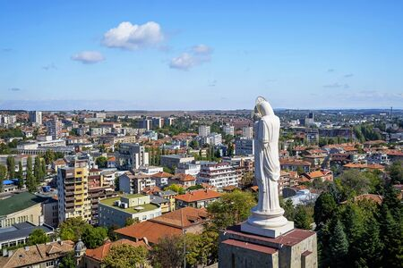The largest statue of Our Lady in Haskovo, Bulgaria 2