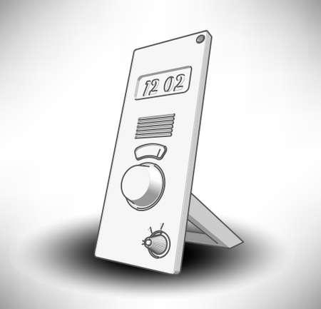 digital clock Stock Vector - 17031086