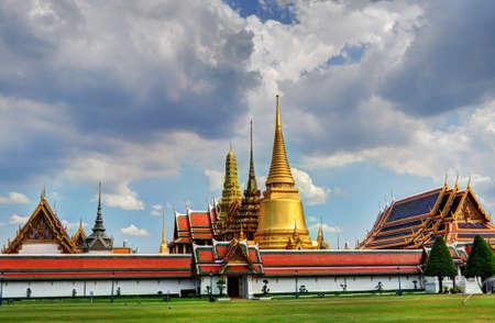 Wat Phra Kaew Фото со стока
