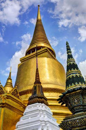 Thai Chedi Stock Photo - 13173424