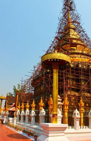 reconstruct: Pagoda renovation 2