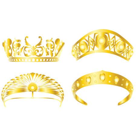 king thailand: gold crown