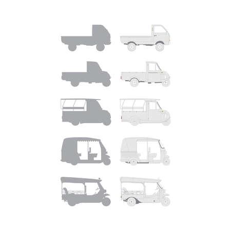 small transit Ilustrace