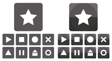 icon buttons: ICON Buttons Vectores
