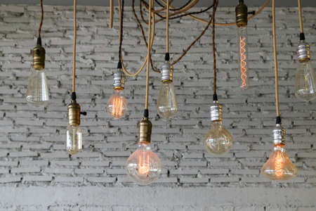 layers levels: Lamp design Stock Photo