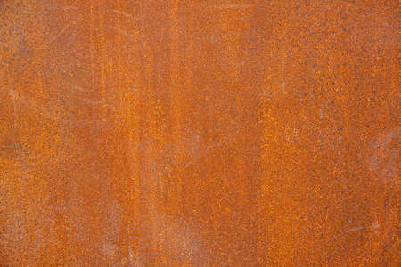 Old rusty red metallic painted abstract background