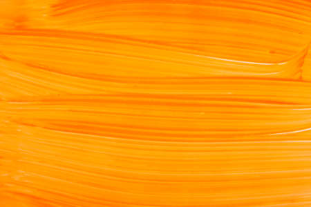 Yellow orange brush stroke background. Colorful watercolor brush stroke pattern