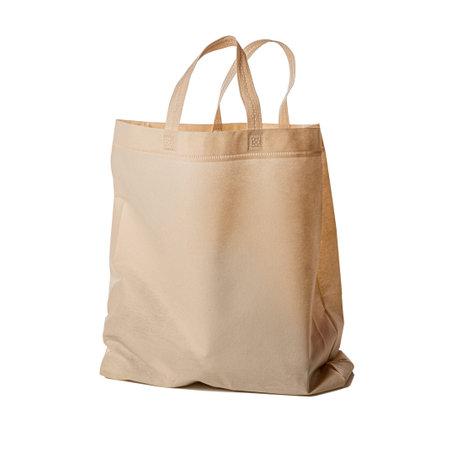 Close up image of shopping bag isolated on white background.