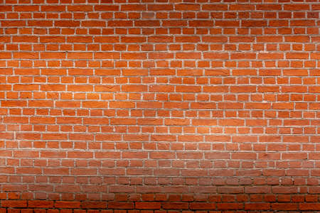 Red brick wall panoramic texture background. Abstract stone brick texture for designers. Фото со стока